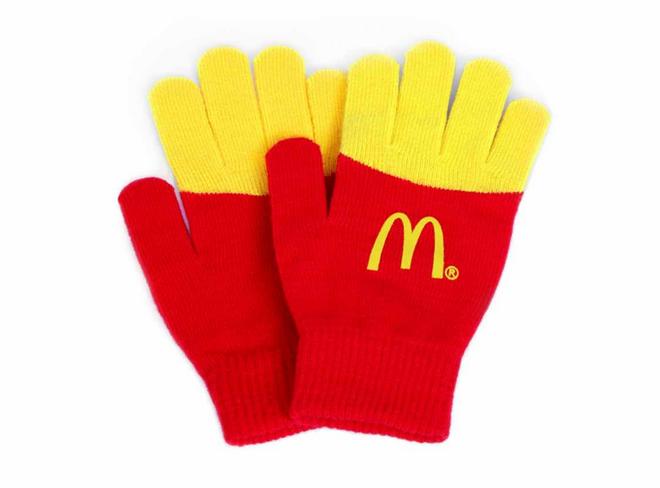 E Essas Luvas Que Imitam As Batatas Fritas Do McDonald's