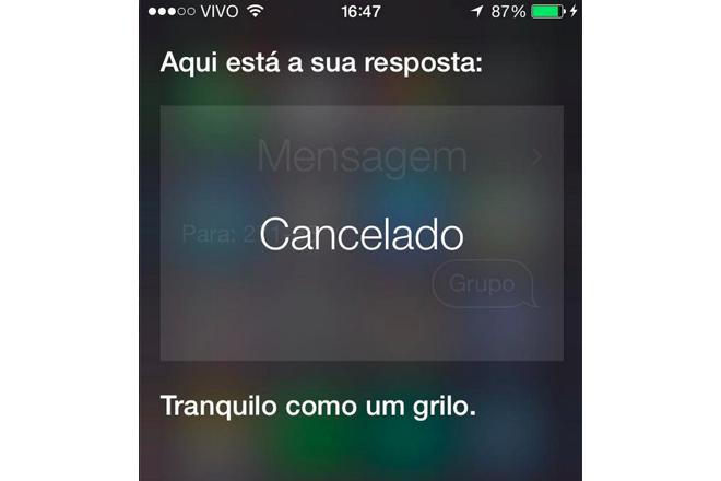 Tranquilo Como Um Grilo Siri Agora Fala Português E Manda