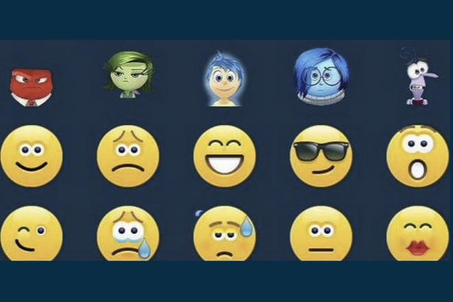 Personagens De Divertida Mente Da Pixar Viraram Emojis